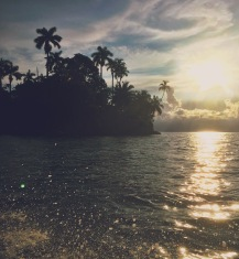 A sunset boat ride around the many islands on the coast of Panama.