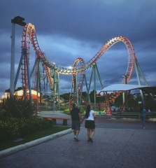 A snapshot from Costa Rica's themepark 'Parque de Diversiones'. A great day outfor families and couples.